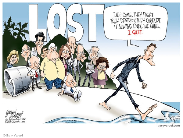 Cartoonist Gary Varvel  Gary Varvel's Editorial Cartoons 2010-02-17 congresswoman
