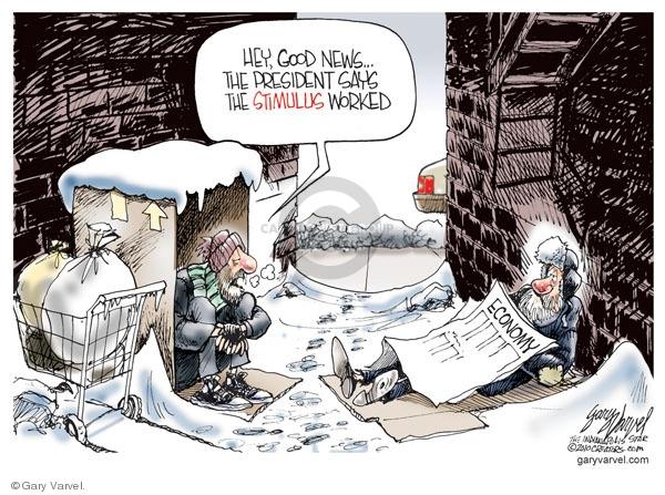 Gary Varvel  Gary Varvel's Editorial Cartoons 2010-02-19 poverty