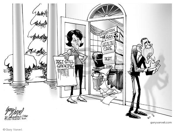 Cartoonist Gary Varvel  Gary Varvel's Editorial Cartoons 2010-03-02 house