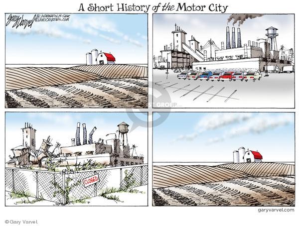 Cartoonist Gary Varvel  Gary Varvel's Editorial Cartoons 2010-03-10 land