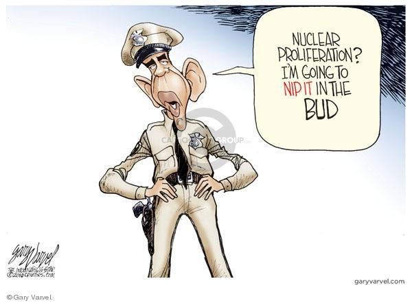 Gary Varvel  Gary Varvel's Editorial Cartoons 2010-04-08 missile