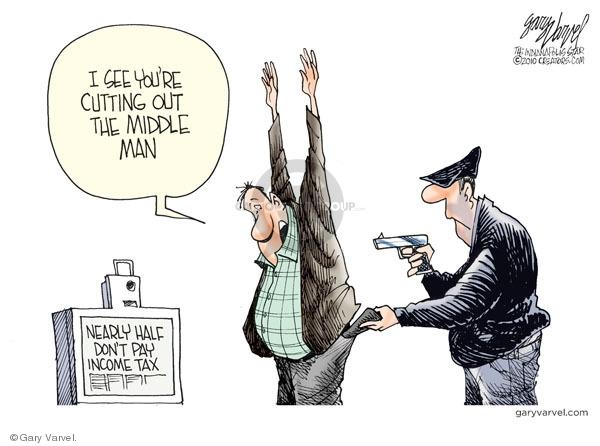 Cartoonist Gary Varvel  Gary Varvel's Editorial Cartoons 2010-04-11 don't