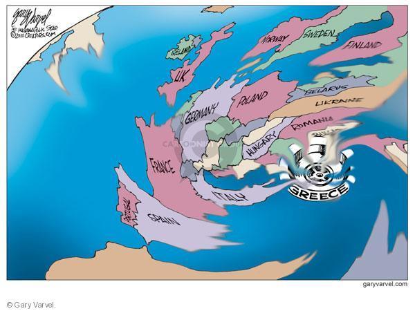 Gary Varvel  Gary Varvel's Editorial Cartoons 2010-05-02 global economy