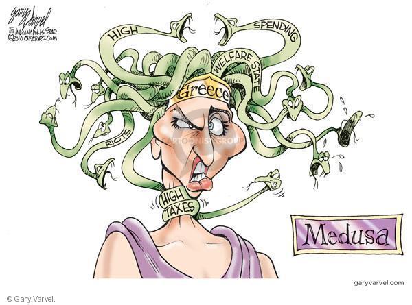 Gary Varvel  Gary Varvel's Editorial Cartoons 2010-05-09 global economy