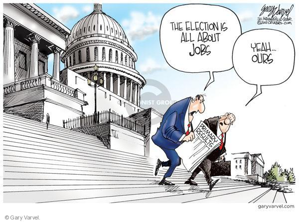 Cartoonist Gary Varvel  Gary Varvel's Editorial Cartoons 2010-05-20 Capitol Hill