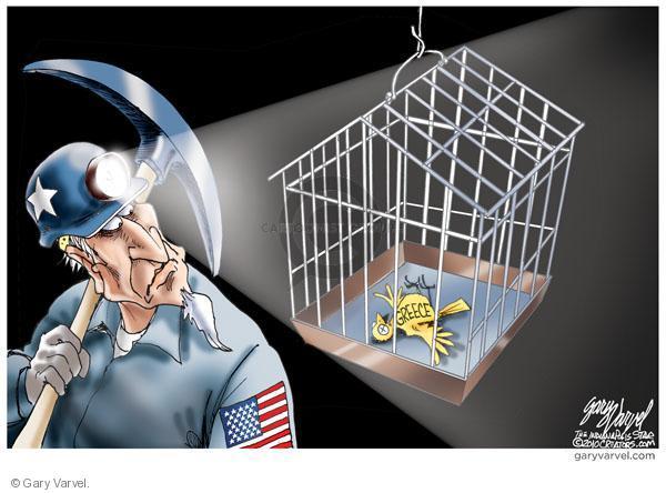 Gary Varvel  Gary Varvel's Editorial Cartoons 2010-05-24 dangerous