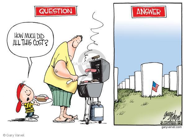 Cartoonist Gary Varvel  Gary Varvel's Editorial Cartoons 2010-05-31 family