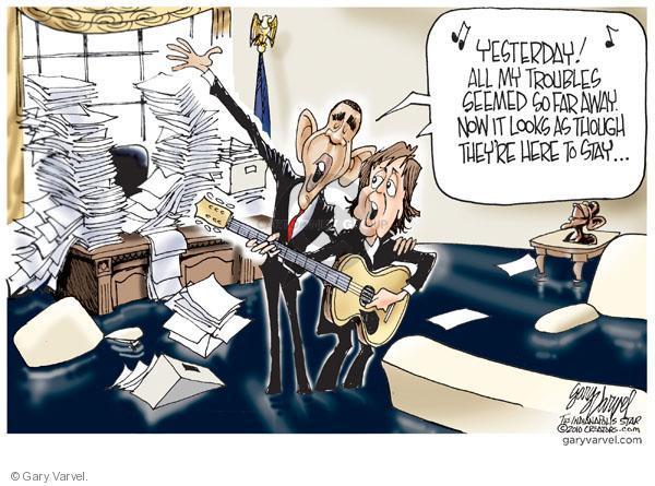 Cartoonist Gary Varvel  Gary Varvel's Editorial Cartoons 2010-06-04 Barack Obama
