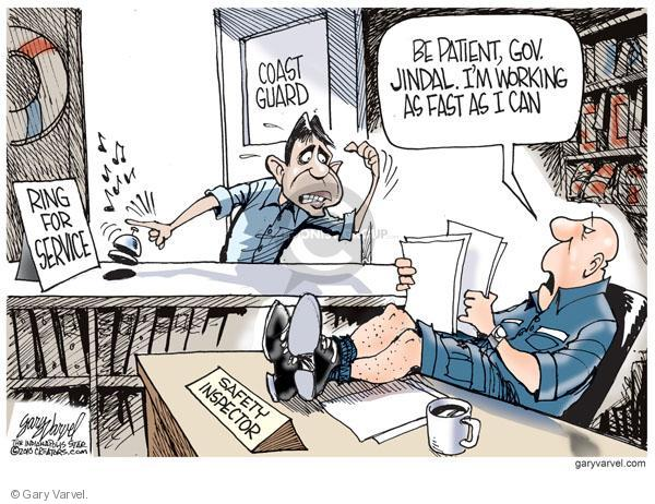 Cartoonist Gary Varvel  Gary Varvel's Editorial Cartoons 2010-06-20 guard