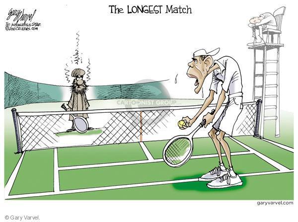 Gary Varvel S Editorial Cartoons Tennis Comics And Cartoons The Cartoonist Group