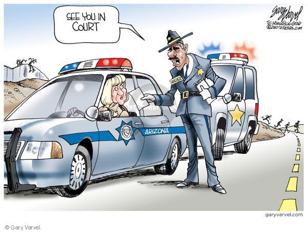 Gary Varvel  Gary Varvel's Editorial Cartoons 2010-07-08 civil liberty
