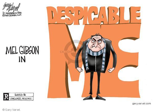 Gary Varvel  Gary Varvel's Editorial Cartoons 2010-07-15 racism