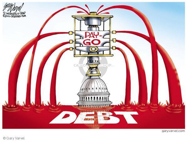 Gary Varvel  Gary Varvel's Editorial Cartoons 2010-07-21 federal budget