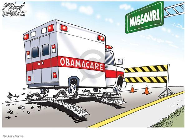 Missouri. Obamacare.