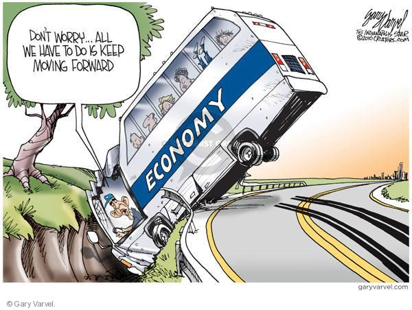 Cartoonist Gary Varvel  Gary Varvel's Editorial Cartoons 2010-08-08 Obama economy