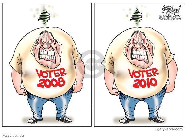 Cartoonist Gary Varvel  Gary Varvel's Editorial Cartoons 2010-08-13 2008 election