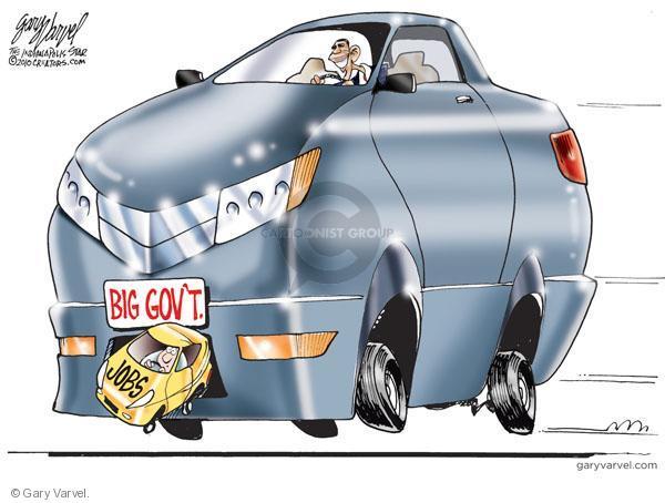 Gary Varvel  Gary Varvel's Editorial Cartoons 2010-08-20 unemployed