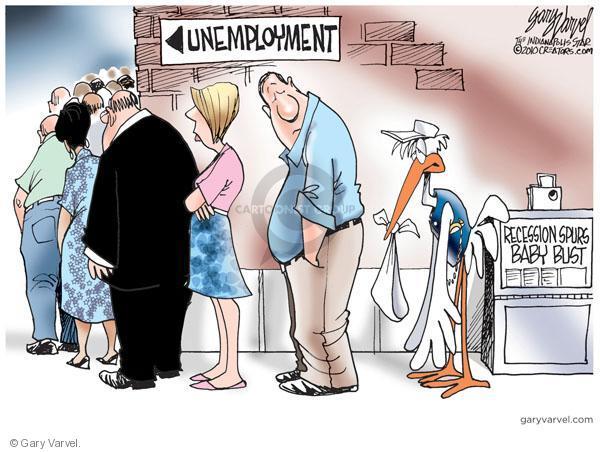 Gary Varvel  Gary Varvel's Editorial Cartoons 2010-08-28 unemployed