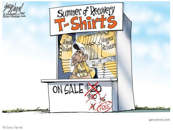 Cartoonist Gary Varvel  Gary Varvel's Editorial Cartoons 2010-08-29 Barack Obama