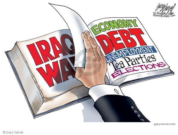 Cartoonist Gary Varvel  Gary Varvel's Editorial Cartoons 2010-09-02 Barack Obama