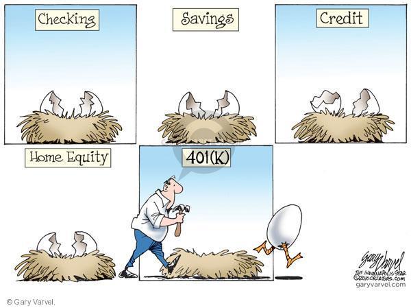 Cartoonist Gary Varvel  Gary Varvel's Editorial Cartoons 2010-09-08 personal finance
