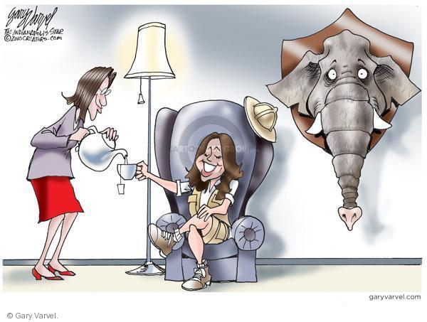 Gary Varvel  Gary Varvel's Editorial Cartoons 2010-09-16 republican party