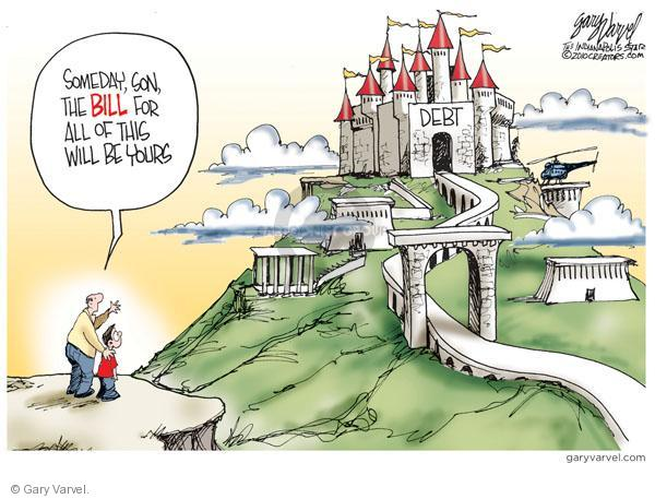 Cartoonist Gary Varvel  Gary Varvel's Editorial Cartoons 2010-09-17 economy