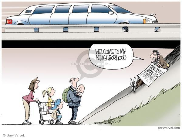 Cartoonist Gary Varvel  Gary Varvel's Editorial Cartoons 2010-09-19 economy