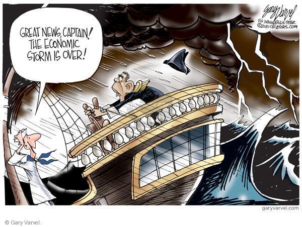 Gary Varvel  Gary Varvel's Editorial Cartoons 2010-09-21 economic recession