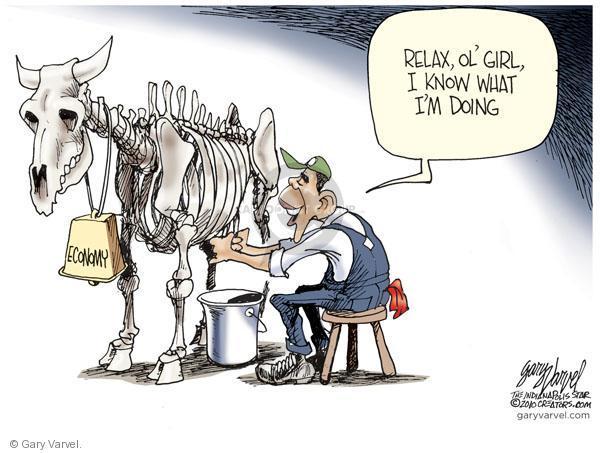 Cartoonist Gary Varvel  Gary Varvel's Editorial Cartoons 2010-09-22 Barack Obama