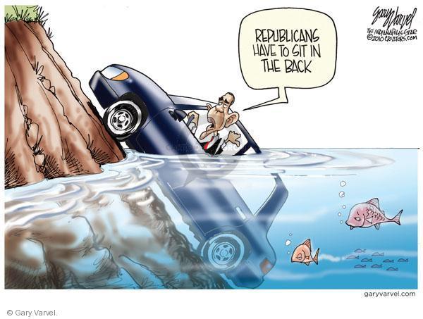 Cartoonist Gary Varvel  Gary Varvel's Editorial Cartoons 2010-10-28 Barack Obama