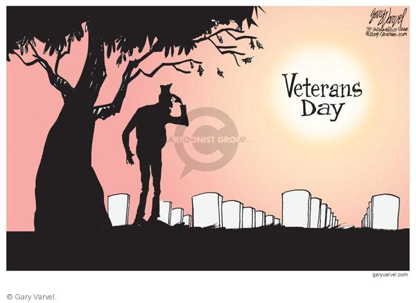 Cartoonist Gary Varvel  Gary Varvel's Editorial Cartoons 2010-11-12 Veterans Day