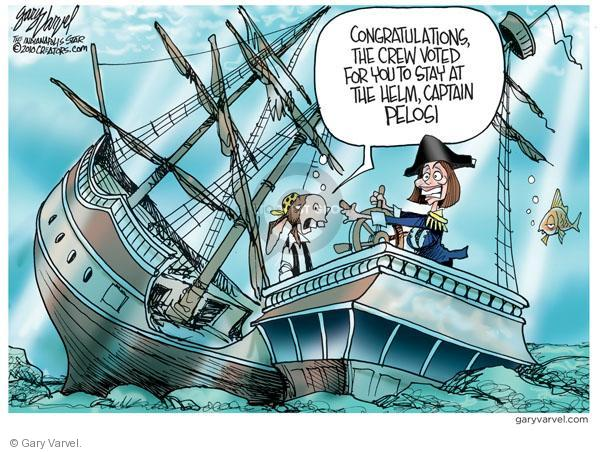 Cartoonist Gary Varvel  Gary Varvel's Editorial Cartoons 2010-11-18 congresswoman