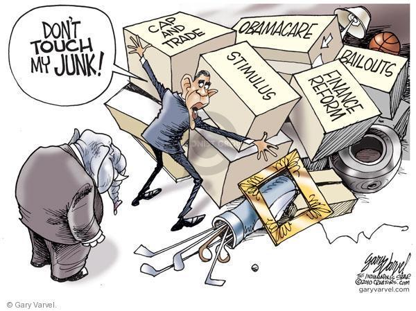 Cartoonist Gary Varvel  Gary Varvel's Editorial Cartoons 2010-11-21 don't