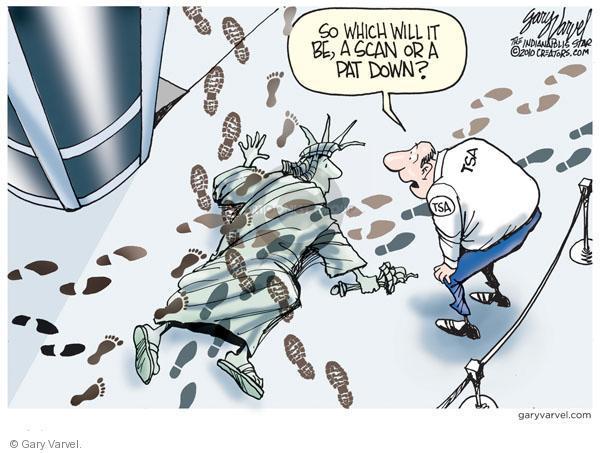 Gary Varvel  Gary Varvel's Editorial Cartoons 2010-11-28 civil liberty