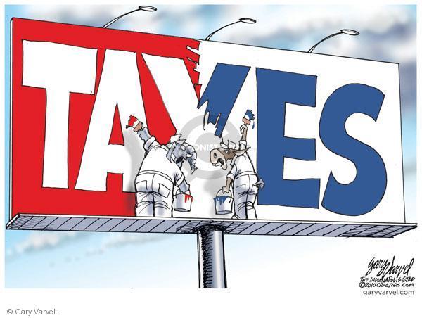 Cartoonist Gary Varvel  Gary Varvel's Editorial Cartoons 2010-12-03 democratic