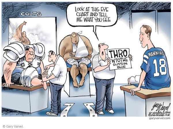 Cartoonist Gary Varvel  Gary Varvel's Editorial Cartoons 2010-12-07 eye
