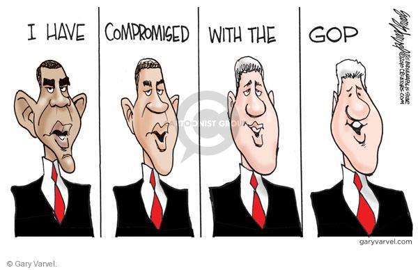 Cartoonist Gary Varvel  Gary Varvel's Editorial Cartoons 2010-12-08 GOP
