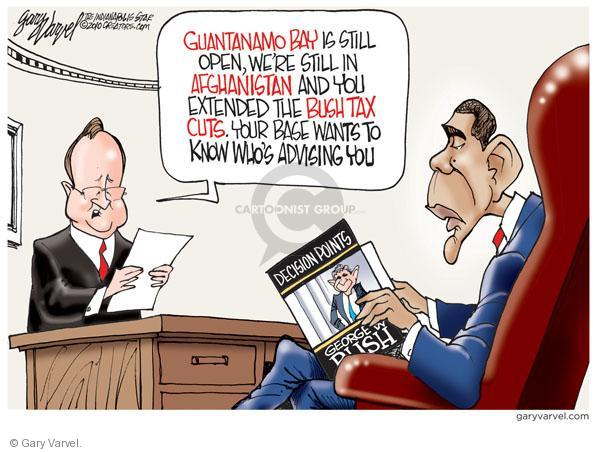 Gary Varvel  Gary Varvel's Editorial Cartoons 2010-12-23 George W. Bush