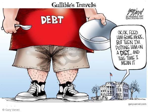Cartoonist Gary Varvel  Gary Varvel's Editorial Cartoons 2011-01-04 put