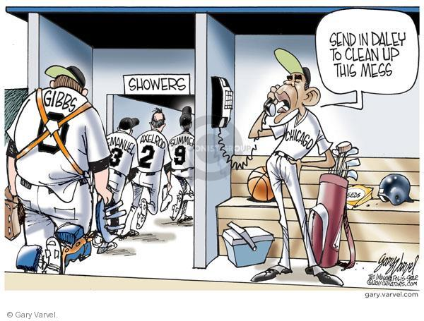 Cartoonist Gary Varvel  Gary Varvel's Editorial Cartoons 2011-01-07 press secretary