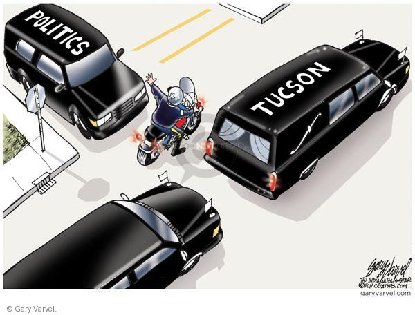Gary Varvel  Gary Varvel's Editorial Cartoons 2011-01-13 Tucson shooting