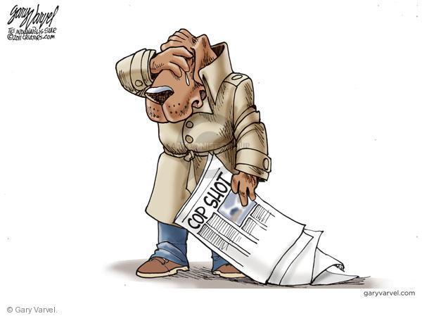 Cartoonist Gary Varvel  Gary Varvel's Editorial Cartoons 2011-01-25 gun death
