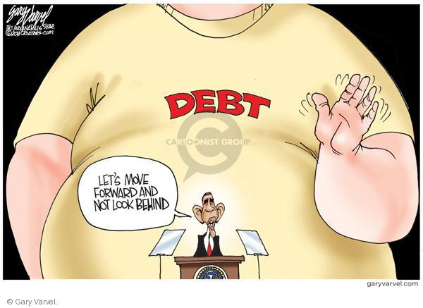 Cartoonist Gary Varvel  Gary Varvel's Editorial Cartoons 2011-01-26 economy
