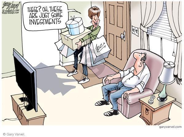 Cartoonist Gary Varvel  Gary Varvel's Editorial Cartoons 2011-01-27 investment