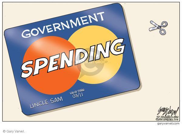 Cartoonist Gary Varvel  Gary Varvel's Editorial Cartoons 2011-01-28 uncle