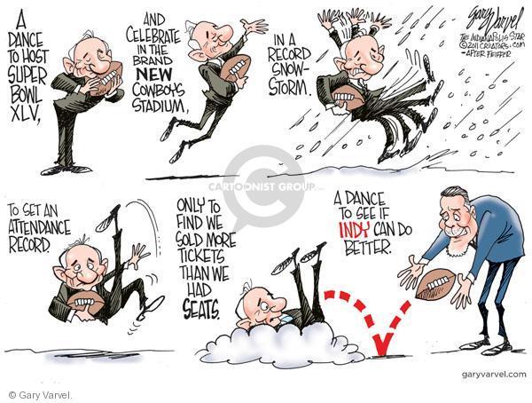 Cartoonist Gary Varvel  Gary Varvel's Editorial Cartoons 2011-02-08 snowstorm