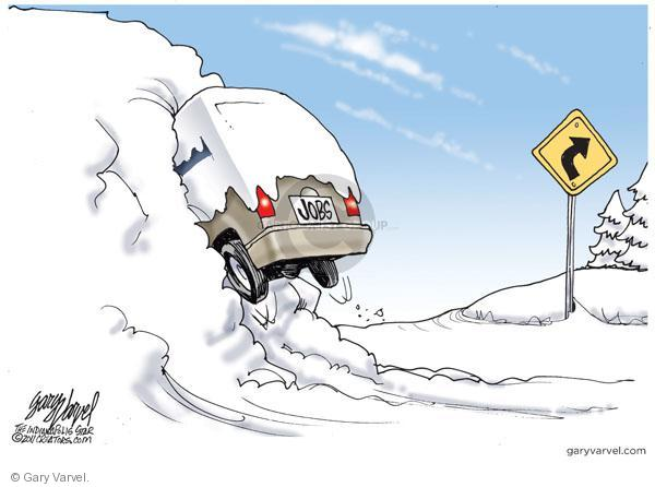 Cartoonist Gary Varvel  Gary Varvel's Editorial Cartoons 2011-02-10 economy