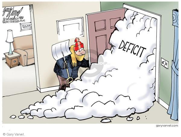 Gary Varvel  Gary Varvel's Editorial Cartoons 2011-02-13 federal budget