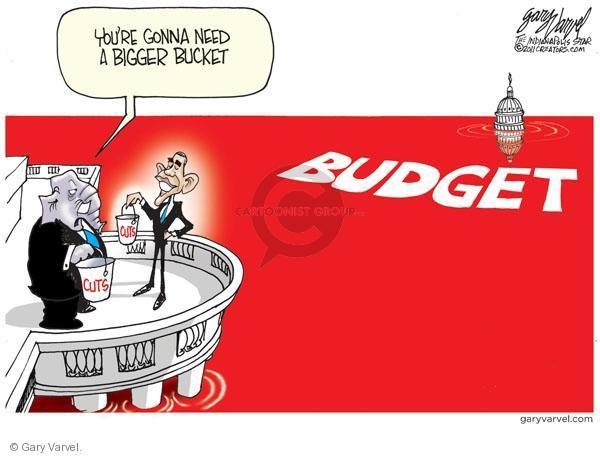 Gary Varvel  Gary Varvel's Editorial Cartoons 2011-02-15 federal budget